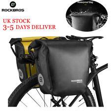 ROCKBROS Waterproof Cycling Pannier Bag Travel Rear Seat Carrier Bike Rack Pack