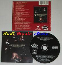 CD AMAZING BLONDEL Englishe musicke 1993 france EDSEL EDCD 365 lp mc dvd vhs