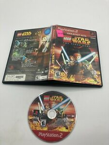 Sony PlayStation 2 PS2 Disc No Manual Tested LEGO Star Wars The Video Game GH