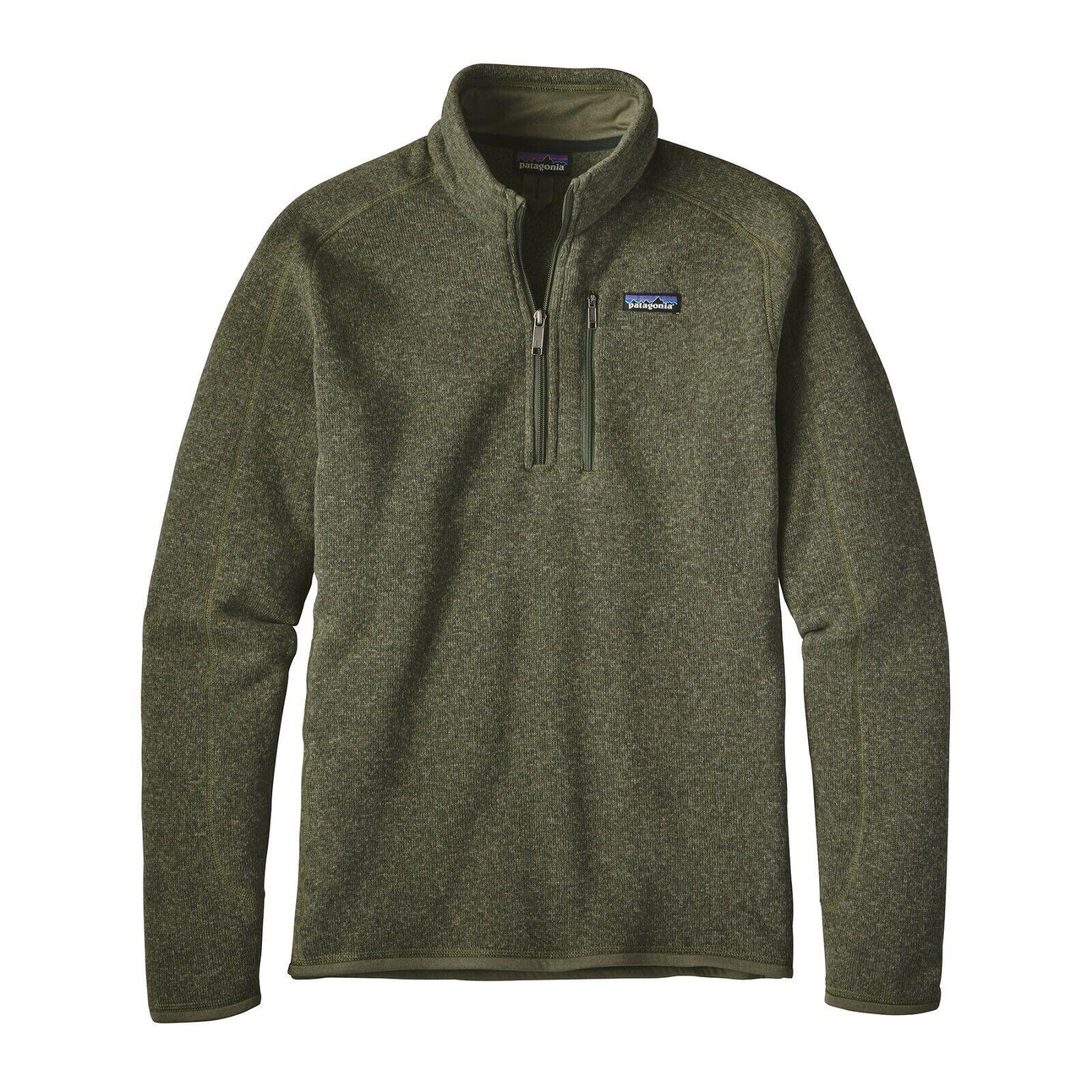 Patagonia Men's  better Sweater ™ 1 4-zip Fleece-industrial verde-M Medium  respuestas rápidas