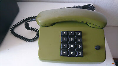 Herzhaft Antik Vintage Festnetztelefon, Tasten ~post Telefon Fetap 752-1~
