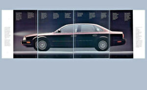 1990 Infiniti Q45 and M30 Color Mailer for the US Market