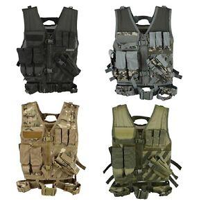 MotivéE Mtp Tactical Assault Gilet Airsoft Gilets De Chasse Molle Attachement Rig Mag Pochettes-afficher Le Titre D'origine Nombreux Dans La VariéTé