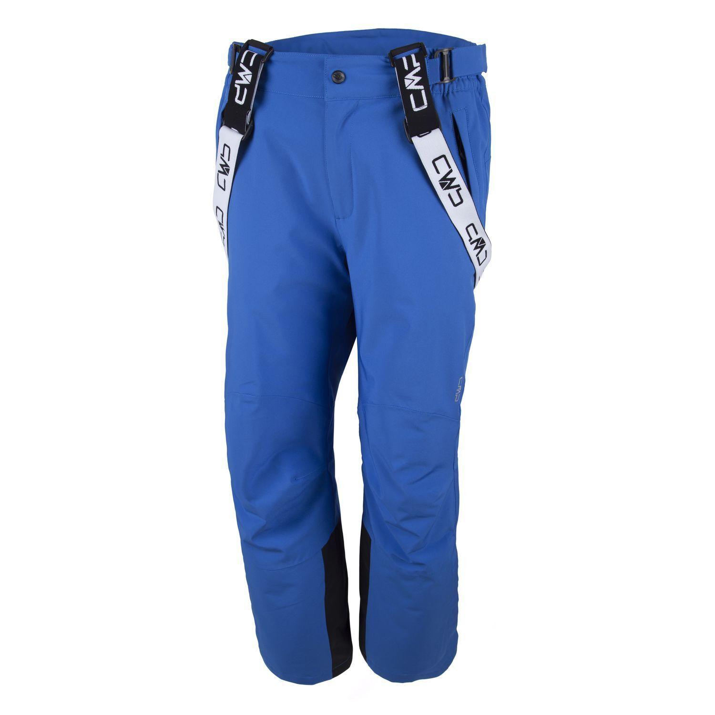 CMP Ski Pants Winter Pants Snow Pants blue Stretch Water Column 8.000 Bib