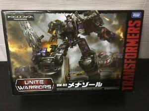 Takara Tomy Transformers Unite Warriors UW02 Menazoru Figure Japan F//S