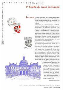 Document Officiel 2008 - 1re greffe du coeur en Europe