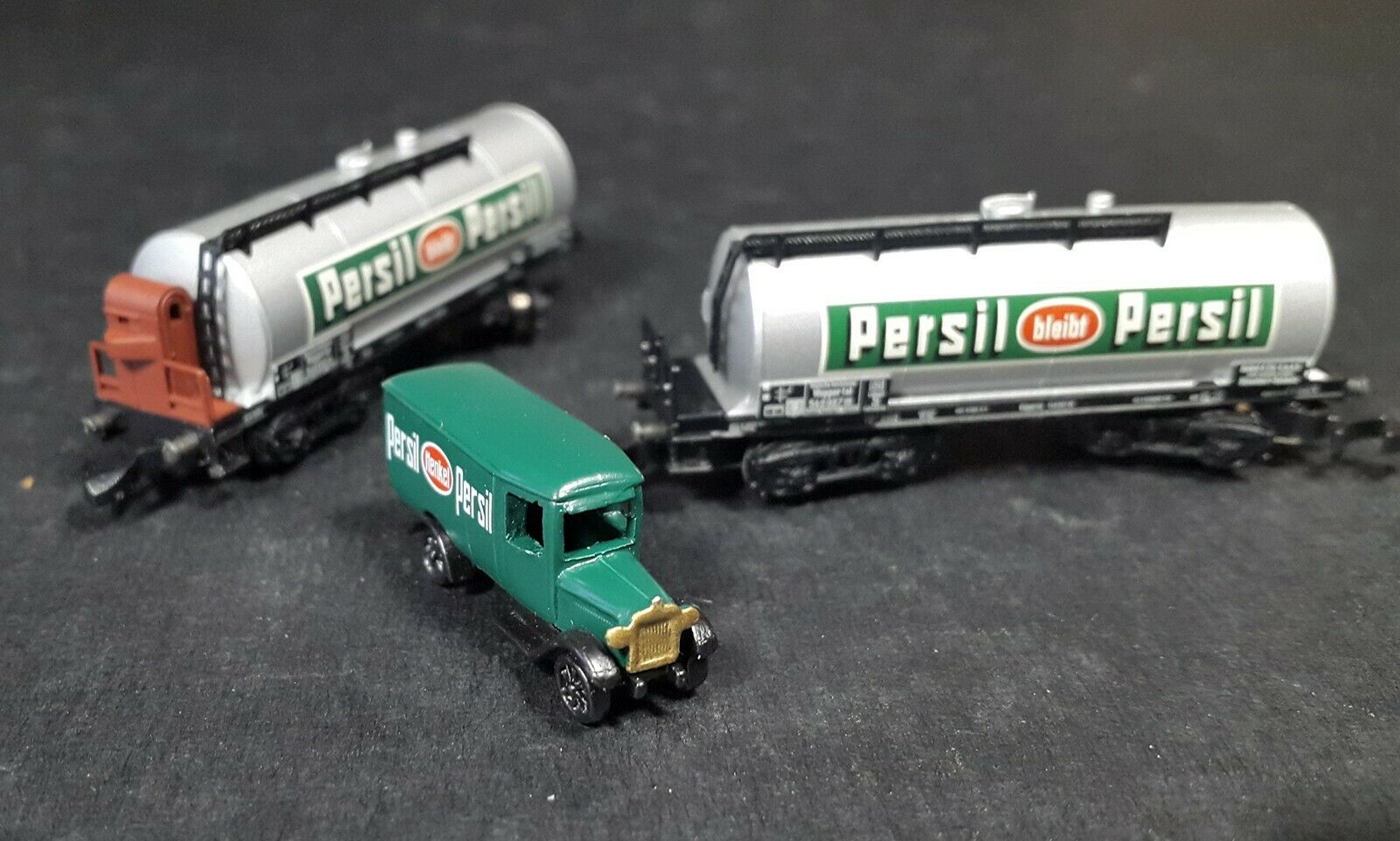 Marklin miniclub z 82071 DRG  PERSIL  Tank Car Set .New.