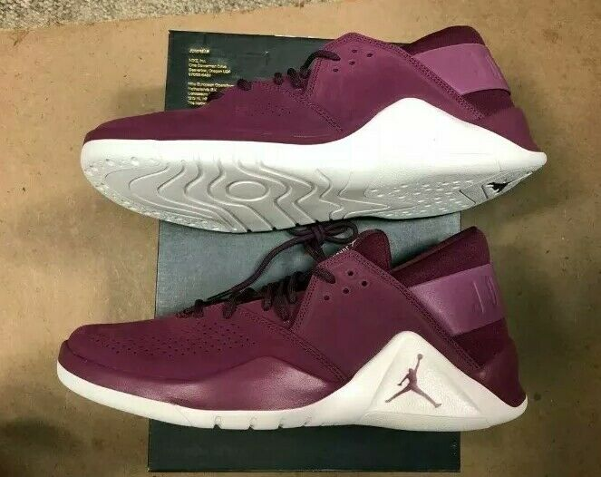 Nike Jordan Flight Fresh Premium Bordeaux Sail Size US 11.5 Men AH6462 625