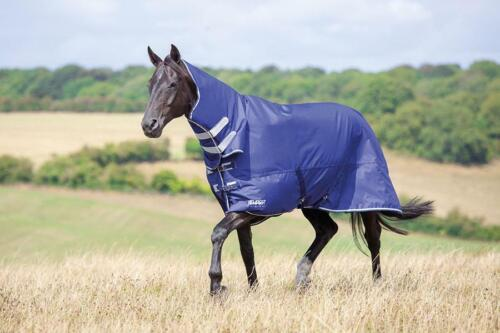 Shires Tempest Original Air Motion Combo Full Neck Turnout Rug in Navy