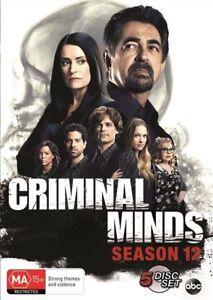 Criminal-Minds-Season-12-DVD-5-Disc-Set-NEW