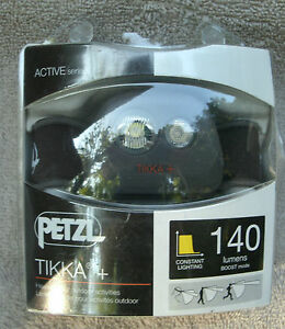 Petzl-Tikka-Plus-Active-Series-140-Lumens-Headlamp-NEW