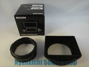 RICOH-Hood-and-Adapter-GH-3-for-RICOH-GW-3-Japan-model-New