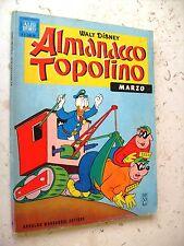 ALMANACCO TOPOLINO  1963 N°  3 -  OTTIMO CON FIGURINE ANCORA ATTACCATE