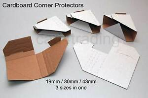 Cardboard Packaging Corner Protectors Multi Size For Picture Framing