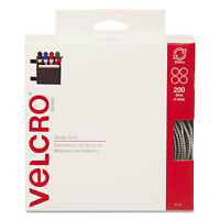 Velcro Sticky-back Hook And Loop Dot Fasteners Dispenser 3/4 Inch Beige 200/roll