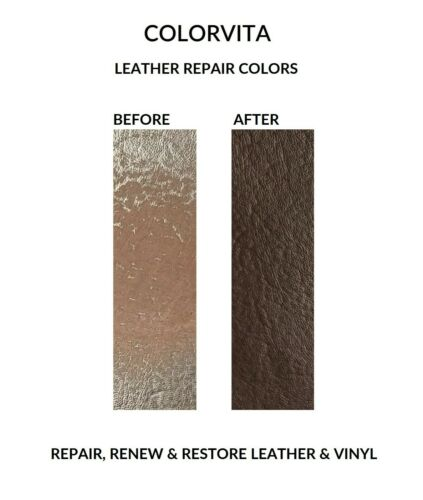 No Kit Leather Repair Color Restorer Furniture Couch Car Seat Espresso Brown