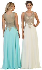 Details about NEW BRIDESMAIDS FORMAL DRESSES LONG SPECIAL OCCASION PROM  EVENING GOWN PLUS SIZE