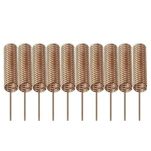 10x 433MHz Antenne Helix Spiral Antenna 433 MHz Sender Empfänger Arduino Rasp