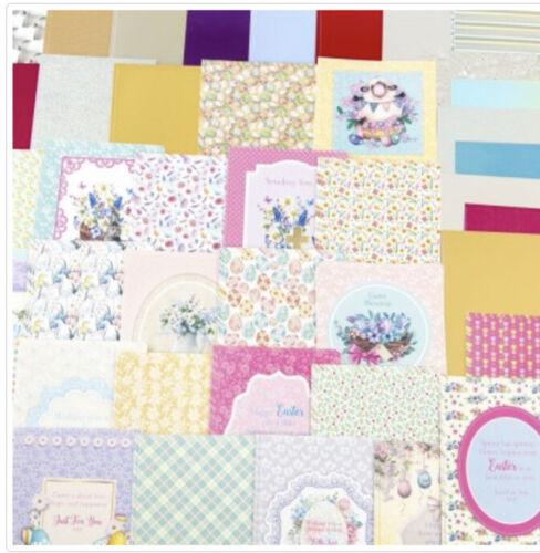 Kanban Crafts Spring dans Pâques 200 mm cachette 8 x 8 onch 36 pages
