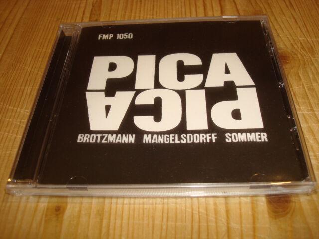 BRÖTZMANN MANGELSDORFF SOMMER Pica Pica FMP CD 1050 NEW Signed NEU Signiert
