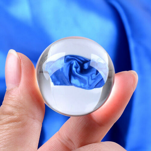 Mini 30mm 40mm Clear Crystal Ball Sphere Healing Crsytals Wedding Decoration