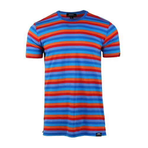 Mens Vintage Shirts – Casual, Dress, T-shirts, Polos    Mens Retro 60s 70s Orange Stripes Short Sleeve Crew Neck Pocket Jersey T-shirt  AT vintagedancer.com