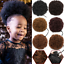 miniature 1 - Afro-Puff-Drawstring-Ponytail-Kinky-Curly-Synthetic-Hair-Chignon-Bun-Extension