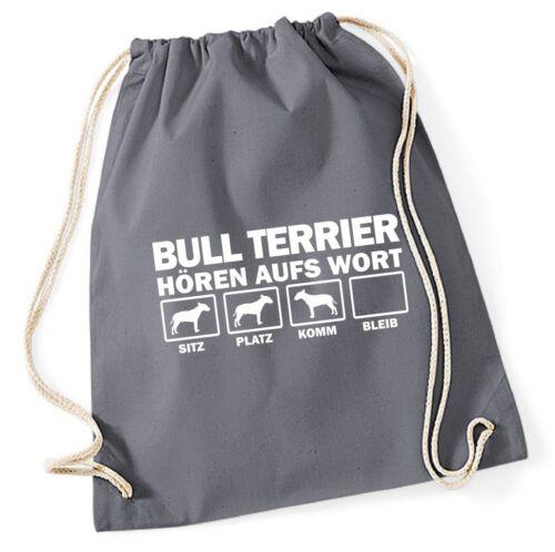Gym di Bag parola ascoltando Siviwonder la Terrier Bull x7vx4PqU