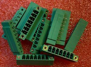 12pcs-X-1830648-Pluggable-Terminal-Blocks-7-Pos-3-81mm-pitch