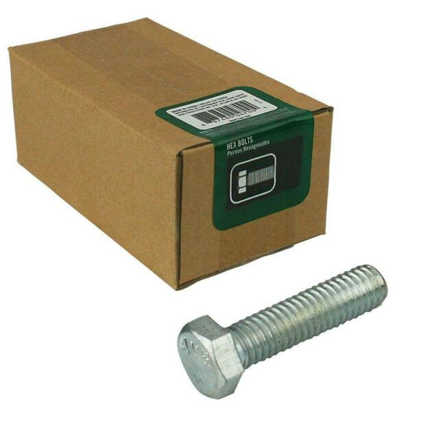 3//8-16 x 1 Piece-8 Hard-to-Find Fastener 014973168360 Nylon Hex Bolts