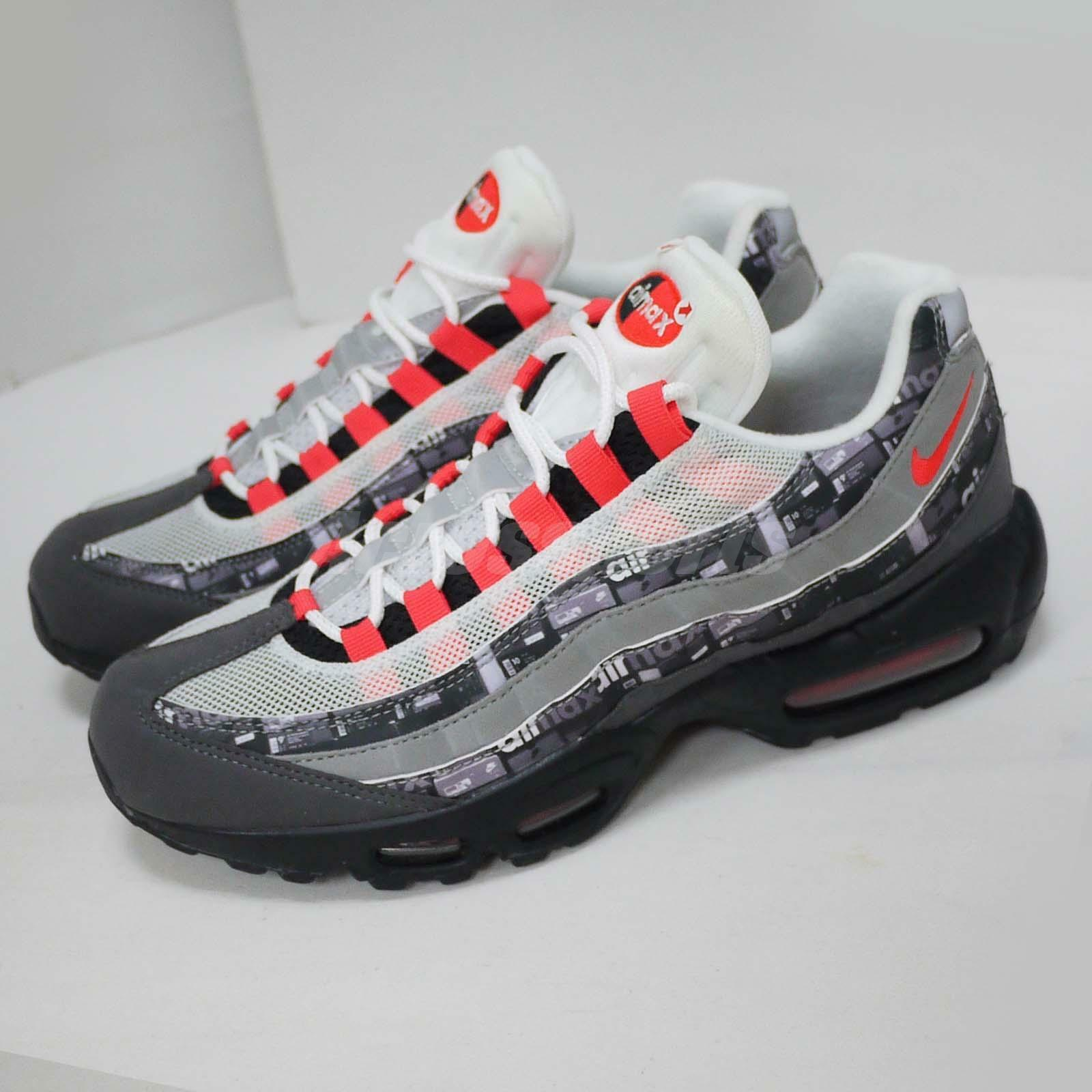 new york 04f69 4c434 Nike Air Max 95 95 95 PRNT Print Left Foot With Discoloration Shoes  AQ0925-002 71dad6