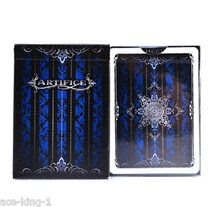 1-deck-BLUE-ARTIFICE-ellusionist-playing-cards-poker-magic