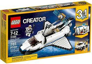 NEW-LEGO-31066-Creator-Space-Shuttle-Explorer-Free-Postage