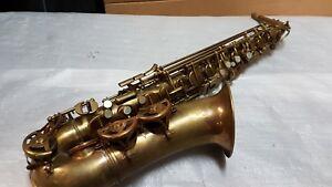 Intelligent 40's Maurice Boiste Alto Sax/alt Saxophone-made In France-afficher Le Titre D'origine Avoir à La Fois La Qualité De TéNacité Et De Dureté