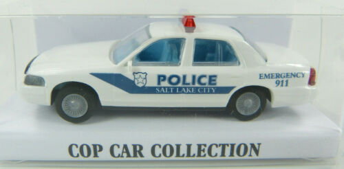 ST Ford Crown Victoria Salt Lake City Police Cop Car Collection 1:87