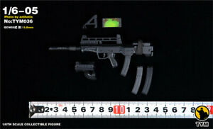 Second World War MP44 submachine gun 1//6 figure toy weapon can not launch