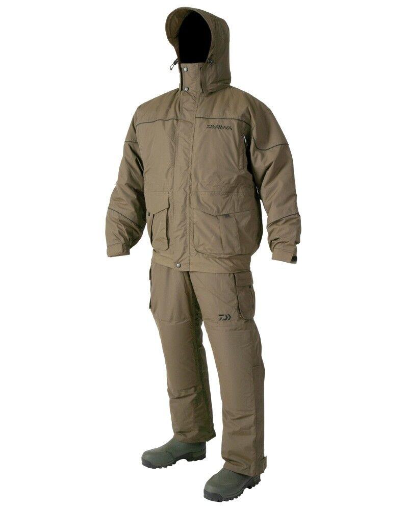 Daiwa Daiwa Daiwa Igloo 2 Piece Waterproof Suit Grün Fishing NEW All Größes e2802e
