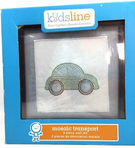 KidsLine Wall Art Mosaic Transport Wall Hanging Discontinued by Manufacturer