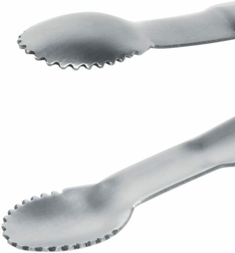 Stainless Steel Ice Clip Tongs Kitchen Tongues Food Folder Sugar Buffet Tongs