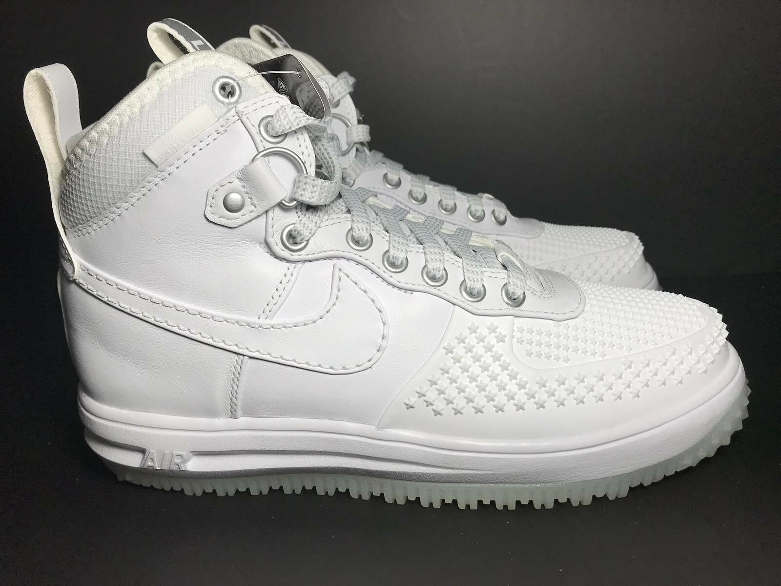 best website 2698c 7b531 Nike Lunar Force 1 Duckboot - White White White White 805899 101- Men s  Size 7