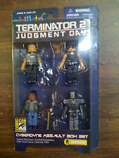 Diamond Select SDCC Terminator II: Judgment Day Minimate Set NEW FREE SHIP US