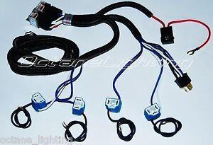 s l300 ceramic h4 relay wiring harness 4 headlight headlamp light bulb
