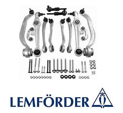 AUDI A4 A6 VW PASSAT SKODA SUPERB LEMFORDER SUSPENSION CONTROL ARMS SET BEST QUA