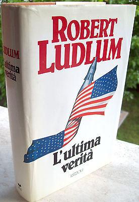 """Krimis & Thriller 1989 """"dieultima Wahrheit' Roman Von Robert Ludlum Vertrieb Von QualitäTssicherung"""