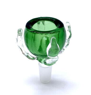 14mm Male Green Dragon Claw Slide Bowl Water Pipe Hookah