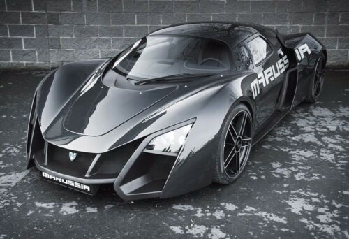 Exotic Sports Car Poster Sports Car Photo Print Marussia Exotic Sports Car