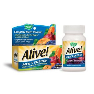 alive mens energy multi vitamin multi mineral once daily