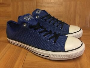 83f0a84a994a RARE🔥 Converse Chuck Taylor All Star Woven Weave Royal OX Laced ...