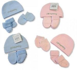 3 Piece Baby Boys Girls Baby Hat Socks   Mittens Gift Set In 1 Pack ... c0c03290666