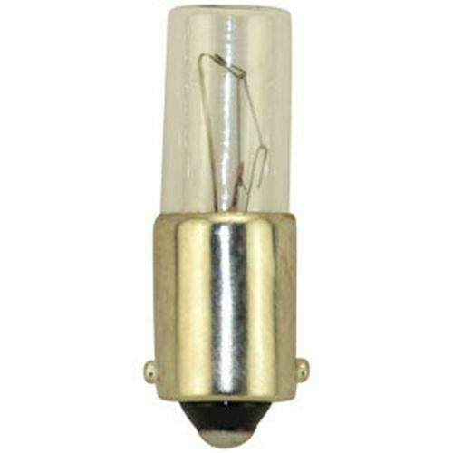 (10) REPLACEMENT BULBS FOR EIKO 949 3W 130V